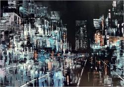 City, olajfestmény