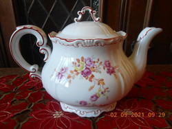 Zsolnay porcelain tea spout, teapot