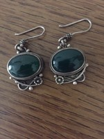 Earrings, unique silver handcrafted jewelry