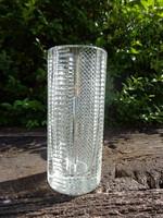 Nagyon szép, nehéz üveg váza