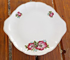 Floral tray bowl