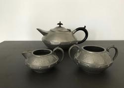 Art deco English tea set 3 pieces
