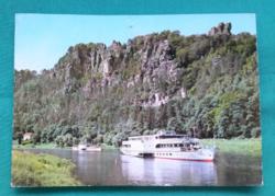 Svájc,Bastei sziklaalakzat,postatiszta képeslap