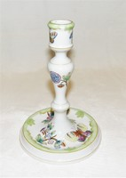 Old Herend Victoria Pattern - Candlestick - Luminaire - 1944s'