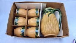 Retro corn wine set in its own box