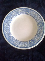 Zsolnay, old, rare plate with blue shield seal