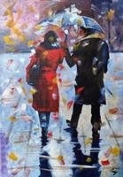 B. Preszecsán Hajnalka-festmény/vászon 50x35cm