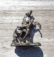 Old Warsaw equestrian statue