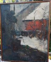 Szentendre painter: Szentendre street scene
