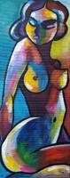 B. Preszecsán Hajnalka-festmény/vászon 60x25cm