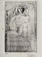 Pablo Picasso rézkarc