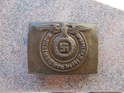 Ww2, German buckle, marked