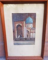 Sándor Szabó: Guremir Mausoleum in Samarkand