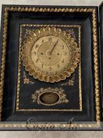 Ökörszemes Biedermeier keretóra 1840