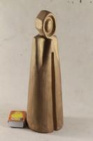 Signed terracotta statue 500