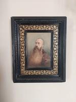 Antik portré Mesterházy Kálmán Báró Nyáry Gyula hagyatékából