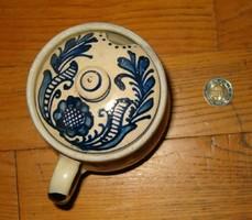 1988 As corundum vase flower motif sale pot flower jar do not know what holder