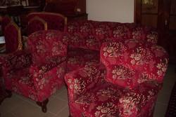 Nagyon kényelmes barokk szalongarnitúra