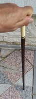 Bone pliers walking stick, wand, dagger stick bayonet, sword, elegant thin graceful