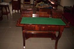 Biedermeier built desk