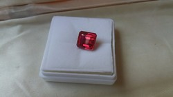 7.90Ct red ruby. Certificate available.
