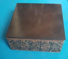 Military gift gift box made of bronze