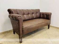 Art deco bőr kanapé 1930-as évek