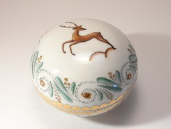 Zsolnay nph losonc deer bonbonier