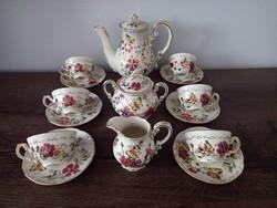 Zsolnay butterfly pattern coffee set