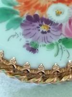 Meisseni 14 karátos arany bross