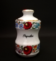 Original hand-painted spice rack from Kalocsa (paprika)