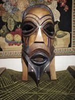 African mask 51 x 23 cm