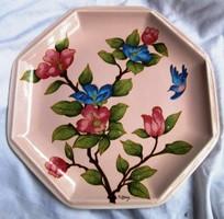 Tiffany ceramic bowl, marked 25.5 x 25.5 cm