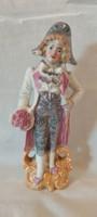 Old, numbered German porcelain baroque figurine