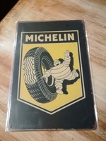 Lemeztábla,fémtábla,reklámtábla,retro jellegű MICHELIN