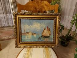 Antique beautiful painting! Venice!