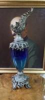 Antique decanter, fireplace ornament, 61 cm
