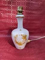 Herend Indian basket patterned Herend lamp.