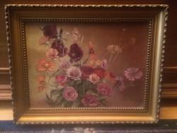 Gyula Balogh / 1950-2019 / bouquet of flowers
