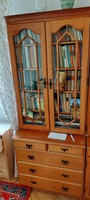 6 One - piece, two - part, showcase Romanian cabinets