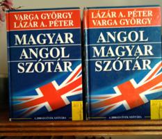 Angol-magyar szótár és Magyar-angol szótár (A 2000-es évek szótára) eladó.