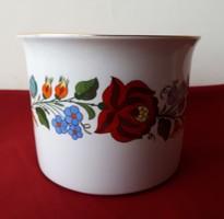 Flowerpot pot from Kalocsa