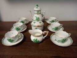 Herend apponyi pattern coffee set