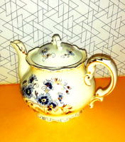 Teapot with cornflower pattern, for make-up