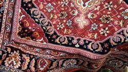 Mokett silk velvet rug, tablecloth 158 * 152 cm