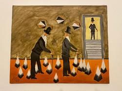 NAIF festmény A.Lusetti 1973