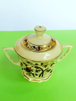 Sugar holder for zsolnay coffee set with bamboo pattern for replacement