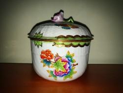 Large Herend vbo victoria sugar bowl