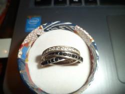Köves cartier fazonú gyűrű
