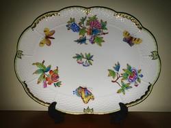 Large Herend vbo Victoria serving platter